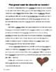 French Valentine's Day News Stories - passé composé or imparfait