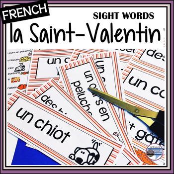 French – Valentine's Day – Saint-Valentin – les mots de la Saint-Valentin