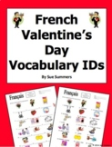 French Valentine's Day Vocabulary IDs Worksheet - Jour de Saint Valentin