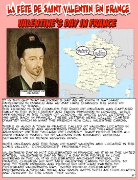French Valentine's Day Workbook