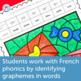 French Valentine's Day Worksheets Color by Sound | La Saint-Valentin - français