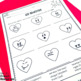 French Valentine's Day activities for middle school and hi