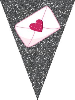 French Valentine's Day banner