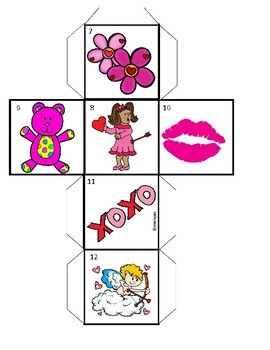 French Valentine's Day oral and written activities