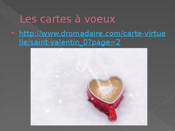 French Valentine's Day vocabulary