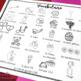 French Valentine's Day vocabulary board game SAINT VALENTIN