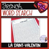 French Valentine's Day word search