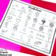 French Valentine's Day word wall/ Mur de mots - La Saint Valentin