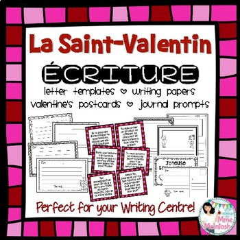 #gatonsnosenseignants - French Valentine's Day Writing - L