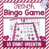 French Valentine's bingo / la Saint Valentin