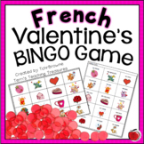 French Valentine's Day Bingo - St-Valentin Lotto