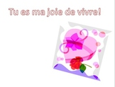 French Valentine's Day Mad Lib and Cards