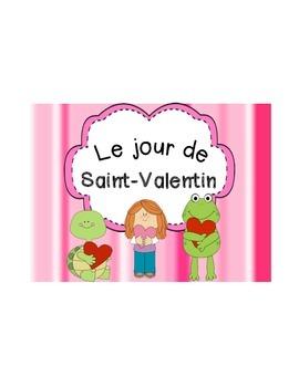 French Valentine's Day (Saint-Valentin) Vocabulary Cards a