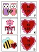 French Valentine's Day math and literacy centres centers S