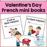 French Valentine's Day mini books