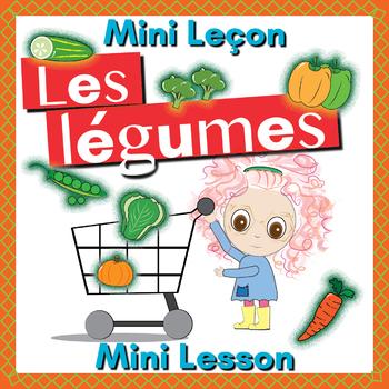 French Vegetables (legumes) Booklet