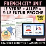 En Ville : French City Unit - Le verbe « ALLER » et le Fut