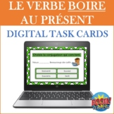French Verb BOIRE BOOM CARDS (FREE Digital Task Cards): BO