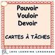 French Verb Bundle:  VOULOIR, POUVOIR, DEVOIR