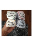French Verb Cootie Catchers - ALLER (1/4)
