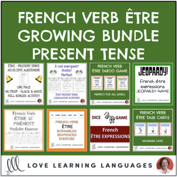 French Verb ÊTRE Bundle - ÊTRE expressions