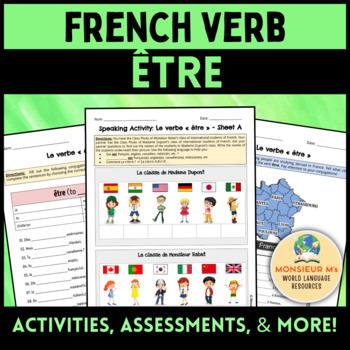 French Verb « être »  [Le verbe « être »]
