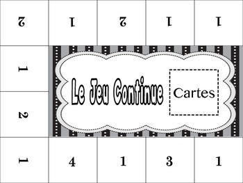 French Regular Verbs (ER, IR, RE) Activity for Groups