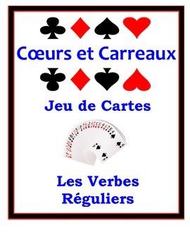 French Regular Verbs (ER, IR, RE) Speaking Activity: Playi