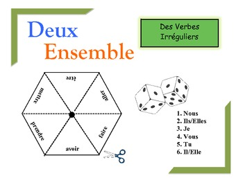 French Irregular Verbs Practice Activity (Pairs or Groups)