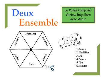 French Passé Composé (Avoir) Practice Activity for Pairs or Groups