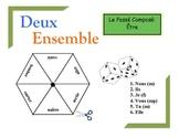 French Passé Composé (Être) Practice Activity for Pairs or Groups