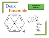French Regular Verbs Practice Activity (Pairs or Groups)