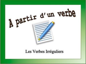 French Irregular Verbs Sentence Writing Powerpoint
