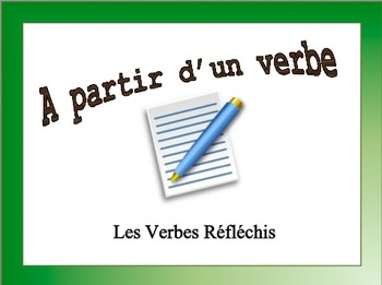 French Reflexive Verbs Sentence Writing Powerpoint