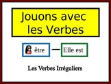 French Irregular Verbs Writing Activity, Powerpoint