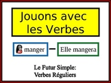 French Simple Future (Regular) Writing Activity, Powerpoint