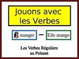 French Regular Verbs (ER, IR, RE) Verbs Writing Activity, Powerpoint