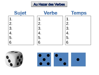 French Verb Game (Powerpoint)