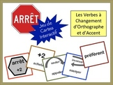 French Accent & Spelling-Change Verbs Card Game