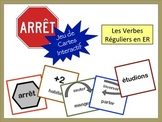 French ER Verbs Card Game