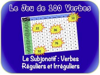 French Subjunctive (Regular & Irregular) Writing Activity