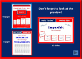 French Verb To Be… être - BUNDLE - Imperfect Past Tense (Imparfait)