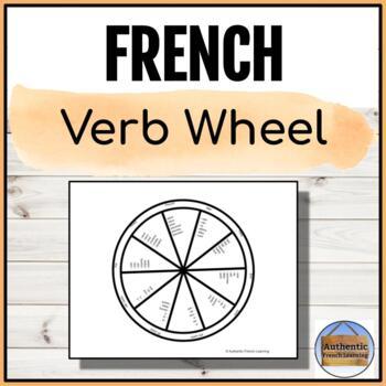French Verb Wheel