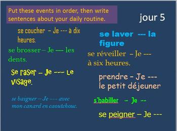 French Verbs 2 BELLWORK Bundle