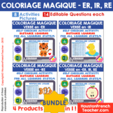 French Distance Learning - Verbs (ER, IR, RE) - Magic Pict