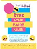 French Verbs : Faire, Aller, Être, Avoir