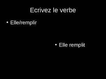 French Verbs--Les Verbes ER, IR, RE PowerPoint Review Game