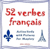 French Verb Picture Matching