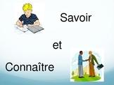 French Verbs Savoir and Connaitre Activity