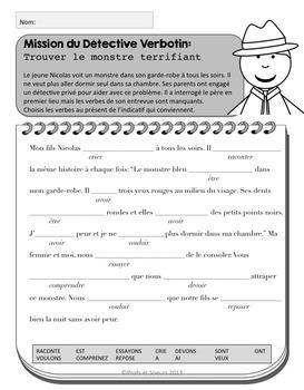 French Present Tense Verbs / Verbes au présent / French Verb Conjugation
